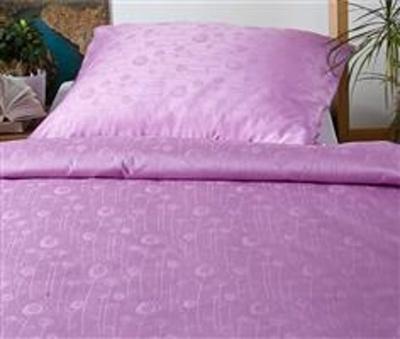 Povlečení damašek Luční květy fialové 140x220 cm povlak