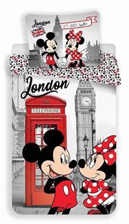 Povlečení MM in London Telephone 140x200, 70x90 cm
