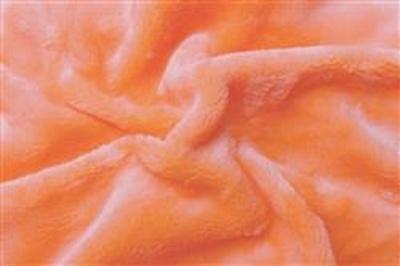 Prostěradlo mikroflanel lososová 180x200x20 cm