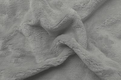 Prostěradlo mikroflanel světle šedá 180x200x20 cm