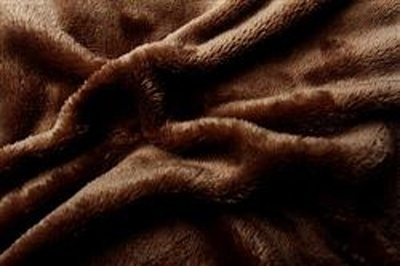 Prostěradlo mikroflanel hnědá (tmavě) 90x200x20 cm