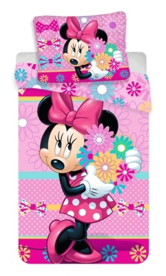 "Povlečení Minnie ""bows and flowers"""