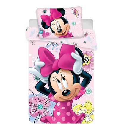 Disney povlečení do postýlky Minnie Butterfly baby 100x135, 40x60 cm