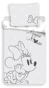 Povlečení Minnie Bows Grey