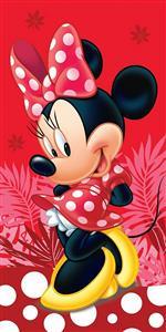 Osuška Minnie Red Spot 70x140 cm