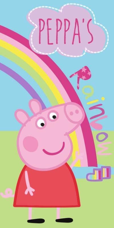 Osuška Peppa Pig 016 - 70x140 cm