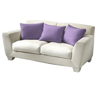 Povlak bavlna fialová 40x40 cm
