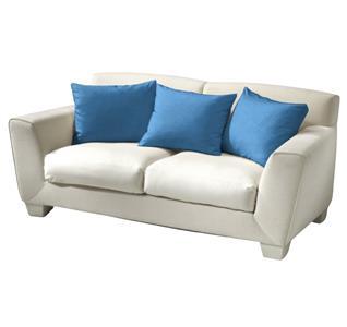 Povlak bavlna modrá 40x40 cm