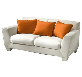 Povlak bavlna oranžová 40x50 cm