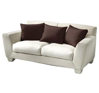 Povlak bavlna tmavě hnědá 40x40 cm
