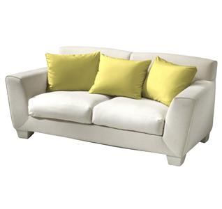Povlak bavlna žlutá 40x50 cm