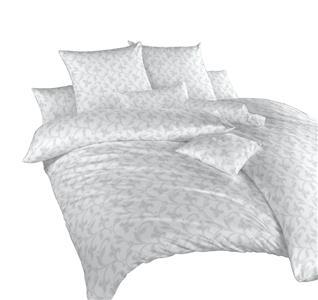 Povlečení damašek Rokoko šedé 220x220 cm povlak