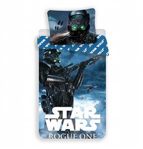 Povlečení bavlna Star Wars Rogue One 140x200, 70x90 cm