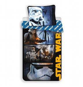 Povlečení bavlna Star Wars Stormtroopers 140x200, 70x90 cm