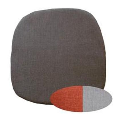 Sedák se zipem Esterilla tmavě hnědý 41x42 cm