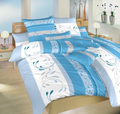 Povlečení bavlna Slezsko modré 140x220, 70x90 cm