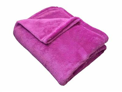 Super soft deka Dadka fialová 150x100 cm