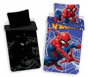 Povlečení Spiderman svítící efekt 140x200, 70x90 cm