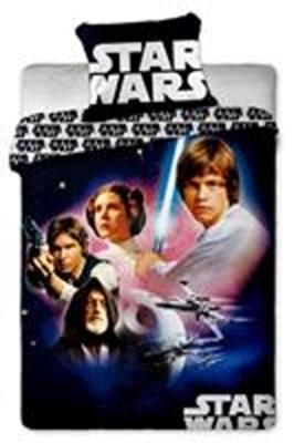 Povlečení bavlna Star Wars 01 140x200, 70x90 cm