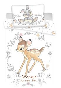 Disney povlečení do postýlky Bambi sweet baby 100x135, 40x60 cm