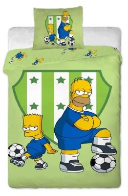 Povlečení Simpsons Bart a Homer