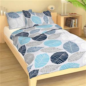 Povlečení bavlna Boris modrý 140x200, 70x90 cm