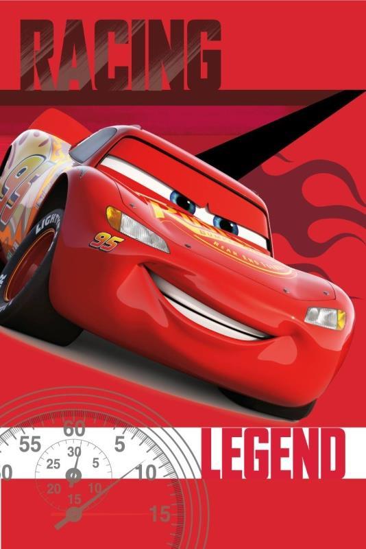 Dětská fleecová deka Cars legend 100x150 cm
