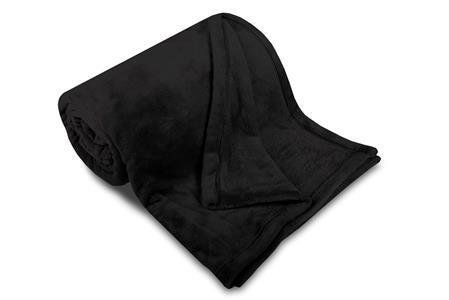 Deka MF UNI SLEEP WELL černá 150x200 cm