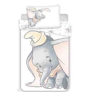 Disney povlečení do postýlky Dumbo grey 100x135, 40x60 cm