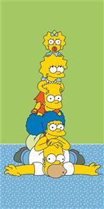 Osuška Simpsons family tower 70x140 cm