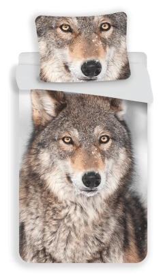 Povlečení fototisk Vlk