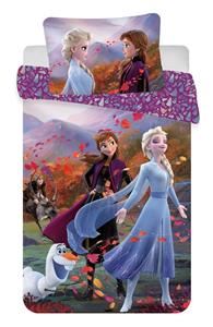 """Disney povlečení do postýlky Frozen 2 """"Wind"""" baby 100x135, 40x60 cm"""