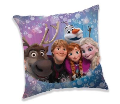 Polštářek Frozen family 40x40 cm