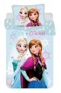 """Povlečení Frozen """"Light blue"""" 140x200, 70x90 cm"""