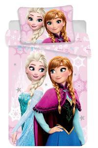 Disney povlečení do postýlky Frozen pink baby 100x135, 40x60 cm