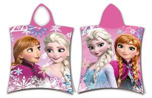 Pončo Frozen sisters 50x115 cm