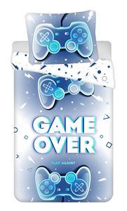 Povlečení fototisk Game over 140x200, 70x90 cm