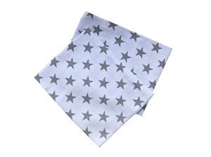 Tetra osuška  90x100 cm Hvězdy šedé (bal 2 ks)