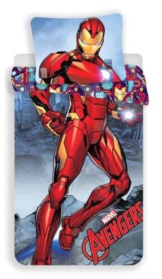 Povlečení Iron-man 140x200, 70x90 cm