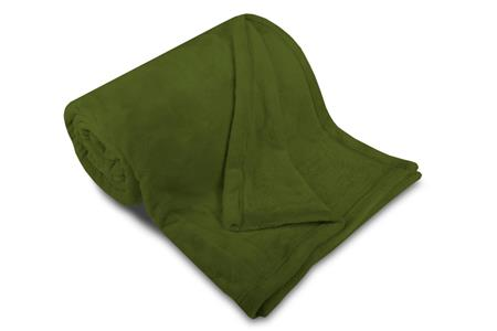 Deka MF UNI SLEEP WELL khaki 150x200 cm