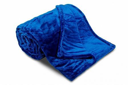 Deka MF UNI SLEEP WELL královsky modrá 150x200 cm