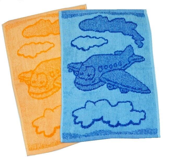 Dětský ručník Plane blue 30x50 cm
