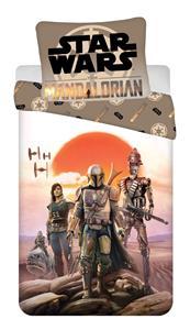"Povlečení bavlna Star Wars ""Mandalorian"" 140x200, 70x90 cm"