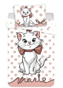 """Disney povlečení do postýlky Marie Cat """"Dots 02"""" baby 100x135, 60x40 cm"""