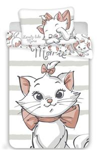 Disney povlečení do postýlky Marie cat white baby
