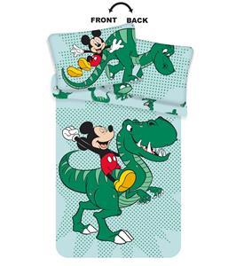 Disney povlečení do postýlky Mickey Dino baby 100x135, 40x60 cm