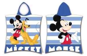 Pončo Mickey stripe 50x115 cm
