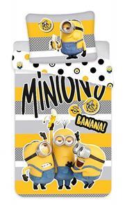 "Povlečení bavlna Mimoni 2 ""Banana!"" 140x200, 70x90 cm"