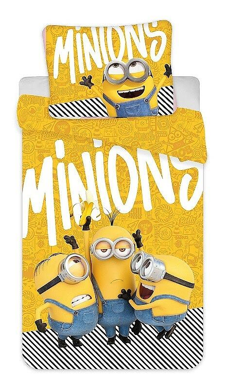 "Povlečení bavlna Mimoni 2 ""Yellow"" 140x200, 70x90 cm"