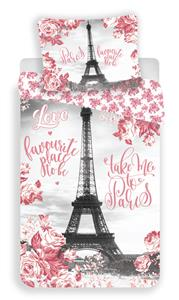 Povlečení fototisk Paris roses 140x200, 70x90 cm